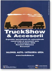 Salonul auto categoria grea - TruckShow 2000 complexul Romaero Baneasa