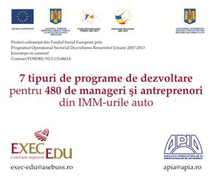 EXEC-EDU - training programmes